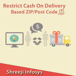 Restrict Cash On Delivery Based ZIP/Post Code Magento2