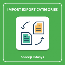Import Export Categories Magento2