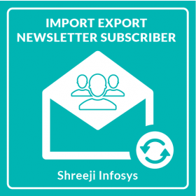 Import Export Newsletter Subscriber Magento 2