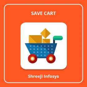 Save Cart Magento 2