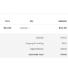 Order View - Front end