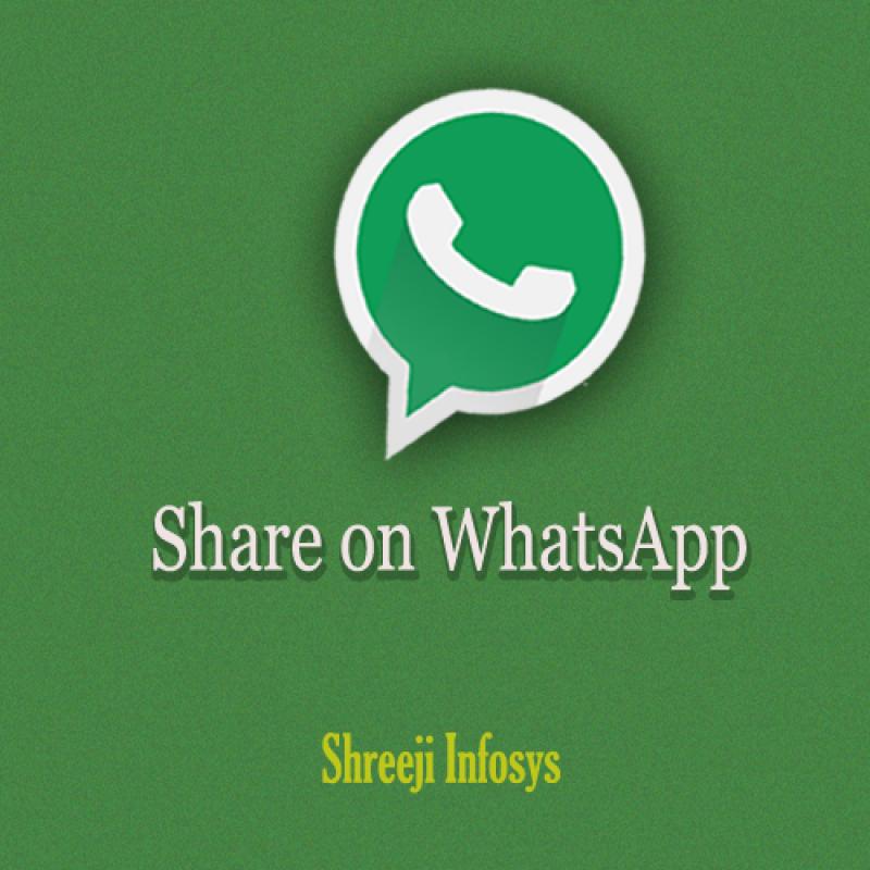 Share on WhatsApp Magento2