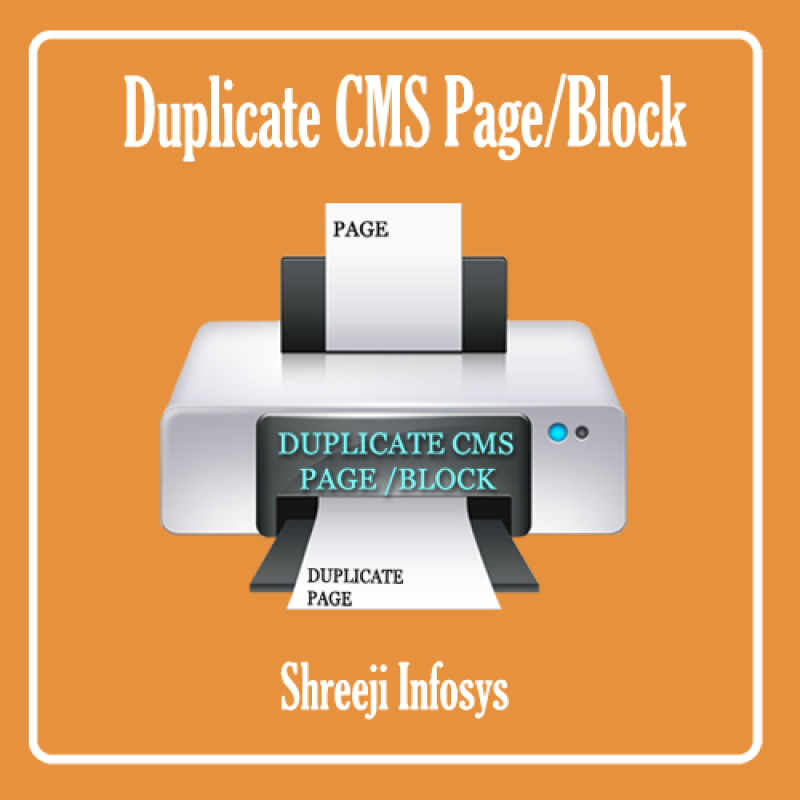 Duplicate CMS Page/Block Magento2
