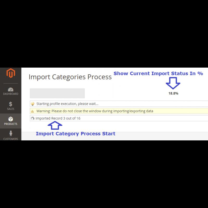 Import Process Start