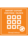Import Export CMS Page/Block Magento Banner