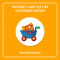 Restrict Cart Qty By Customer Group Magento 2