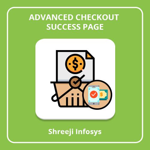Advanced Checkout Success Page Magento 2