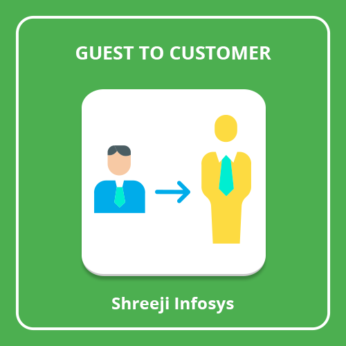 Convert Guest to Customer Magento 2