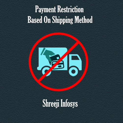 Payment Restriction By Shipping Method Magento 2