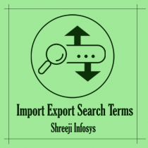 Import Export Search Terms