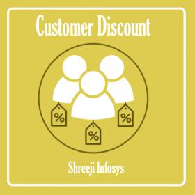 Customer Discount Magento 2