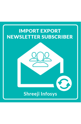 Import Export Newsletter Subscriber Magento 2