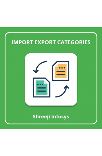 Import Export Categories Magento 2