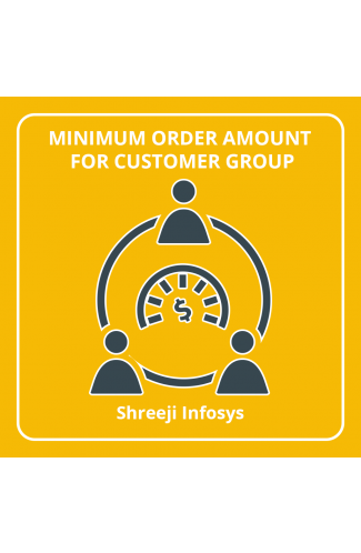 Minimum Order Amount By Customer Group Magento 2