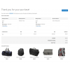 Frontend Checkout Success Page