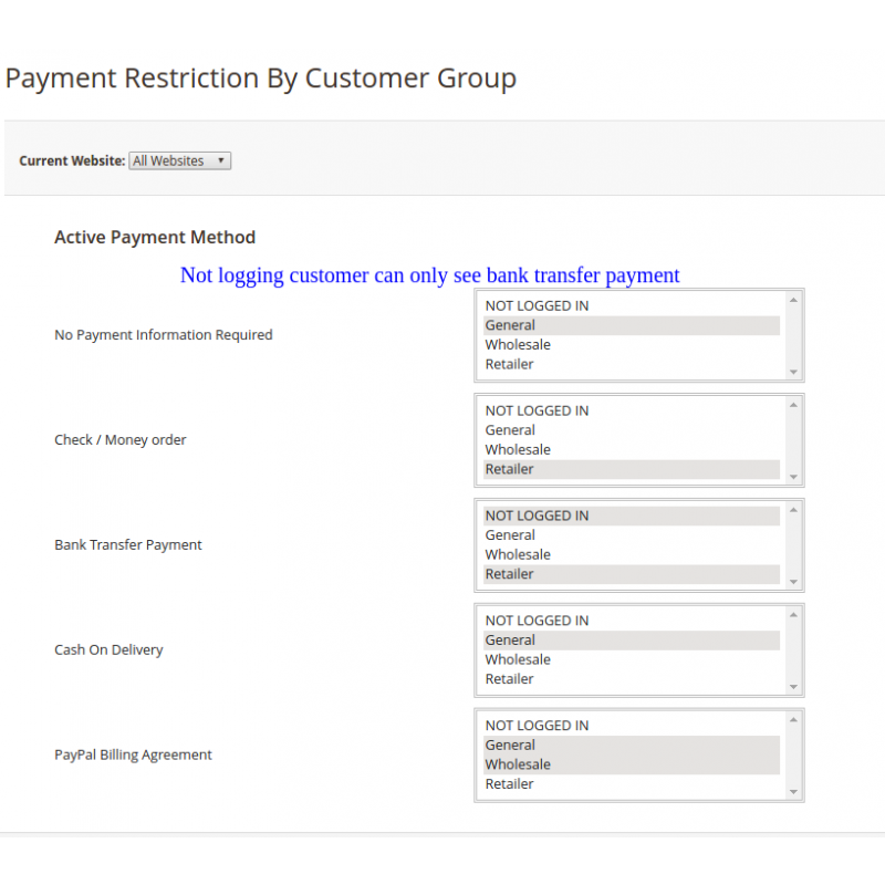 Payment Restriction Backend