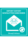 Import Export Newsletter Subscriber Banner